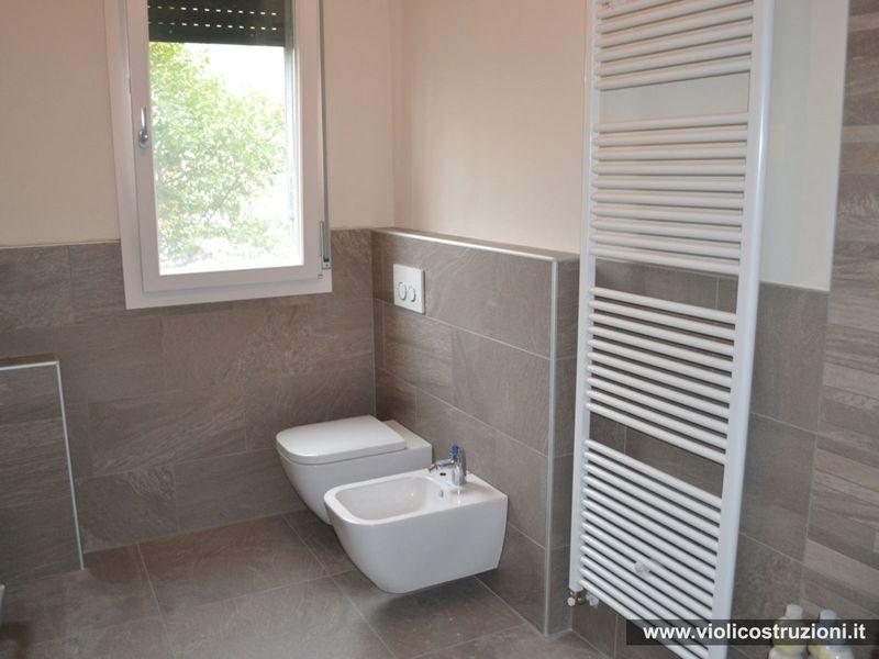 Piastrelle Bagno Altezza 120.Bagni Opere Realizzate Violi Costruzioni